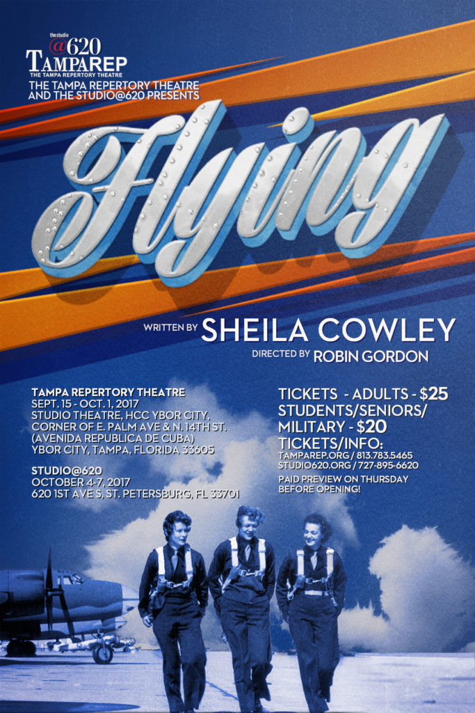 Poster for Flying, by Sheila Cowley
